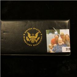"Authentic Uncirculated 2004 Presidential Campaign Dollar Bill -Genuine Legal Tender"", Series 2003, d"