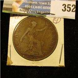 1920 Great Britain Large Penny.