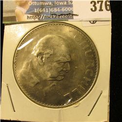 1965 Churchill Crown from Great Britain.