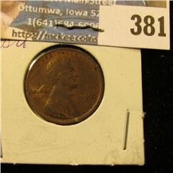 1910 P U.S. Wheat Cent, AU.