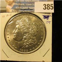 1885 O U.S. Morgan Silver Dollar, Gem BU.