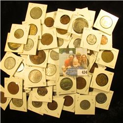 (58) Mixed Foreign Coins.