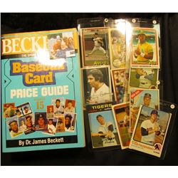 """Becket The Sport Americana Baseball Card Price Guide Number 15"", by Dr. James Beckett; & a group of"