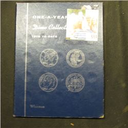 1965-92 Set of Roosevelt Dimes in a blue Whitman Folder. (28 pcs.).