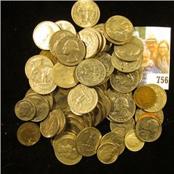 Approximately $15 face value in old unsorted U.S, coins including Silver.