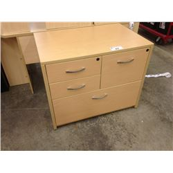 MAPLE 4 DRAWER MULTI FILE CABINET