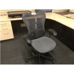 HERMAN MILLER MIRRA II FULLY ADJUSTED VENTED BACK ERGONOMIC HIGH BACK TASK CHAIR