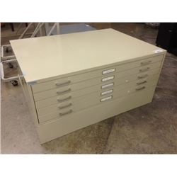 BEIGE 5 DRAWER 54'' X 39'' PLAN FILE