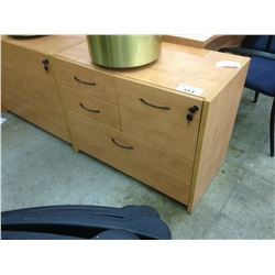 MAPLE 4 DRAWER MULTIFILE