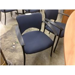 TEKNION AMICUS BLUE CLIENT CHAIR