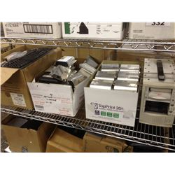 LARGE LOT OF ELECTRONICS INC. SMALL SERVER RACK, SERVER EQUIPMENT, COMPUTERS, AND LARGE QUANTITY OF