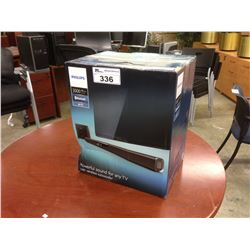 PHILIPS 3000 SERIES SOUND BAR WITH WIRELESS SUBWOOFER