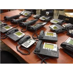 14 CISCO IP DISPLAY HANDSETS AND 4 RECEPTION HANDSETS