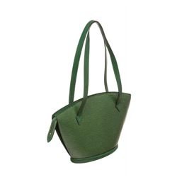 Louis Vuitton Green Epi Leather St Jacques GM Shoulder Bag