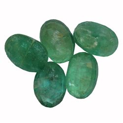 3.92 ctw Oval Mixed Emerald Parcel