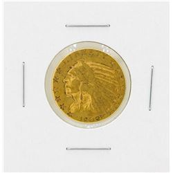 1909 $5 Indian Head Gold Coin
