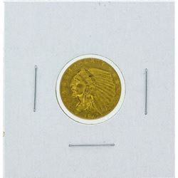 1912 $2 1-2 Indian Head Quarter Eagle Gold Coin CU