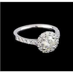 1.52 ctw Diamond Ring - 14KT White Gold