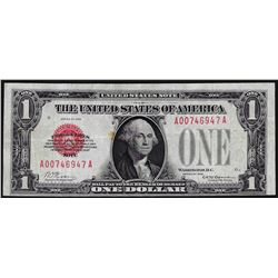 1928 $1 Legal Tender Red Seal Note