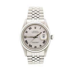 Rolex Stainless Steel Men's Wristwatch