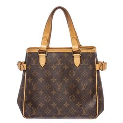 Louis Vuitton Monogram Canvas Leather Batignolles Vertical PM Bag
