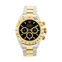 Rolex 18KT Yellow Gold and Stainless Steel Daytona Cosmograph
