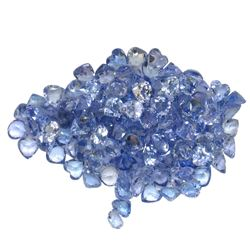 15.76 ctw Round Mixed Tanzanite Parcel