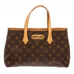 Louis Vuitton Monogram Canvas Leather Wilshire PM Bag