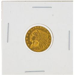 1908 $2.50 BU Indian Head Quarter Eagle Gold Coin