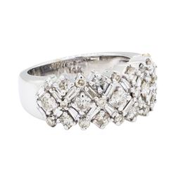 2.45 ctw Diamond Ring - 14KT White Gold