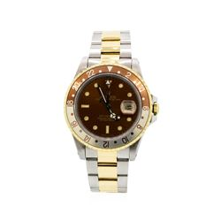 Gents Rolex Date Model Two Tone GMT-Master II Wristwatch