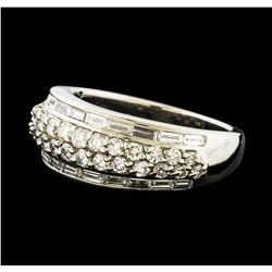 1.43 ctw Diamond Ring - Platinum