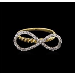 0.40 ctw Diamond Ring - 14KT Two-Tone Gold