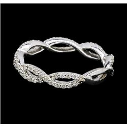 0.64 ctw Diamond Ring - 14KT White Gold