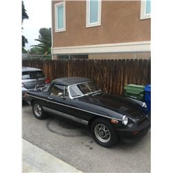 Late 1979 MGB Roadster