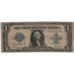 1923 $1 VGF Silver Certificate Currency