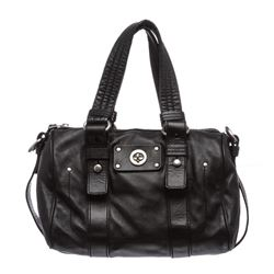 Marc by Marc Jacobs Black Leather Small Satchel Handbag