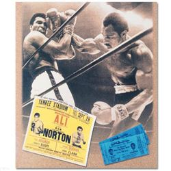 Ken Norton and Ali Ticket