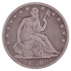 1840-O Seated Liberty Half Dollar Coin