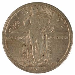 1917 Standing Liberty Quarter Type II