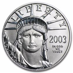 2003 $50 Platinum 1/2 oz American Eagle Coin
