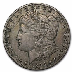 1896-S $1 Morgan Silver Dollar Coin