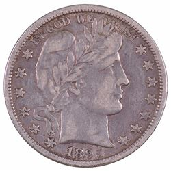 1895-O Barber Half Dollar Coin