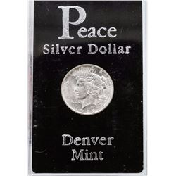 1922-D $1 Peace Silver Dollar Coin