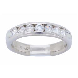 14KT White Gold 0.56ctw Diamond Ring