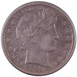 1899-S Barber Half Dollar Coin