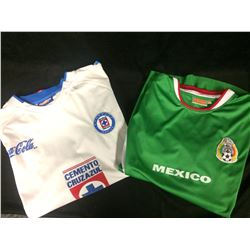 MEXICO SOCCER JERSEY LOT
