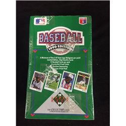 SEALED UPPER DECK 1990 BASEBALL BOX