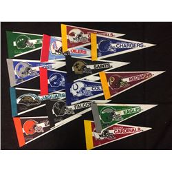 NFL MINI PENNANTS LOT