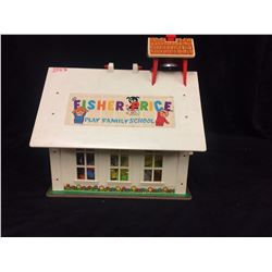 VINTAGE FISHER PRICE SCHOOLHOUSE